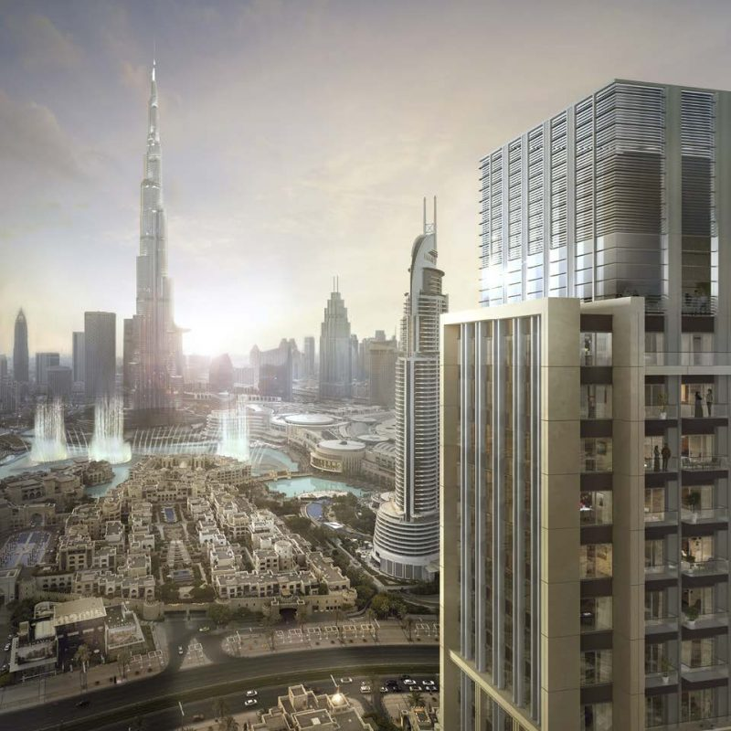 Burj Royale by Emaar in Downtown Dubai. Luxury apartments for sale in Dubai_1