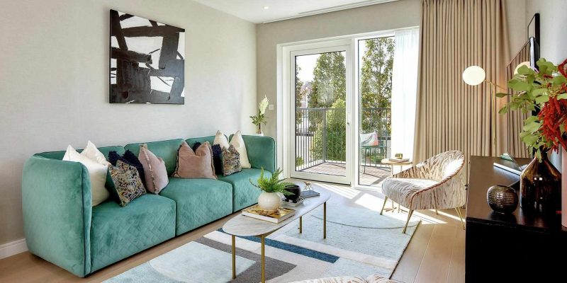 Chelsea Creek in Fulham by Berkeley. Premium apartments for sale in London