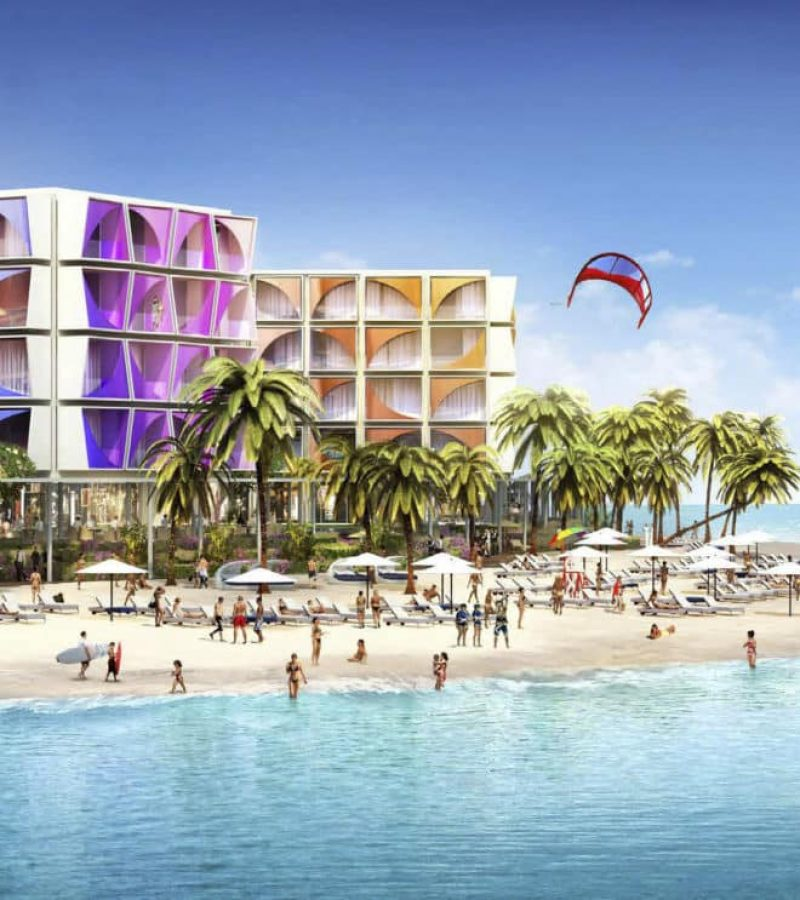 Cote D'Azur hotel by KLEINDIENST in THE WORLD. Luxury apartments for Sale in Dubai