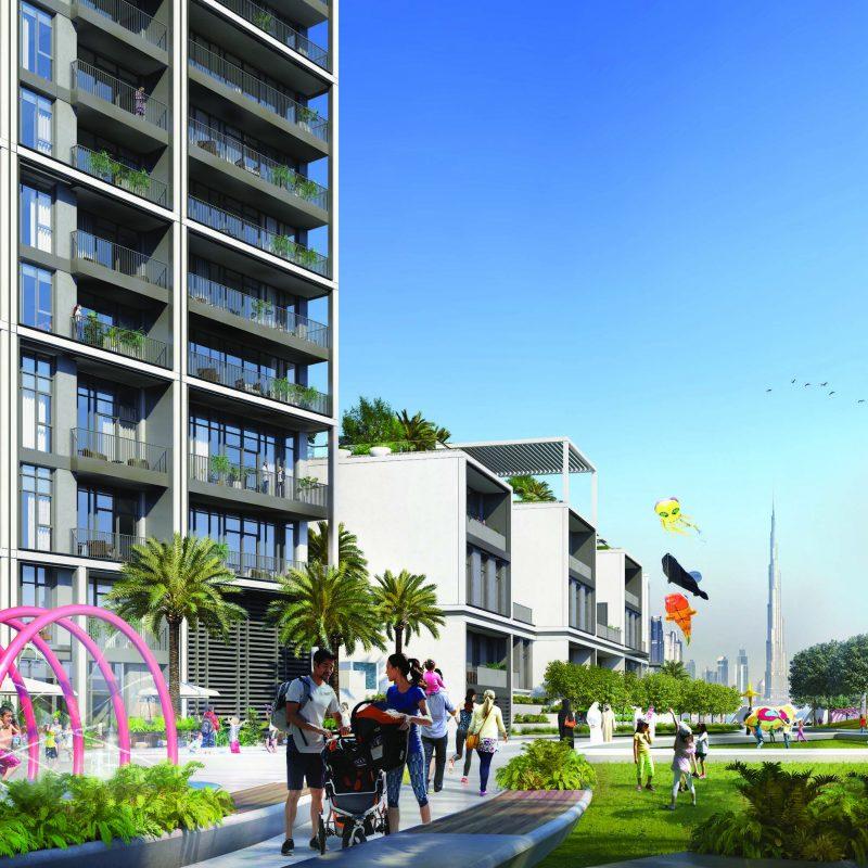 Creek Edge квартиры в Dubai Creek Harbour от Emaar. Продажа премиум квартир в Дубае