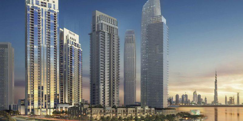Creek Rise by Emaar in Dubai Creek Harbour. Luxury apartments for sale in Dubai