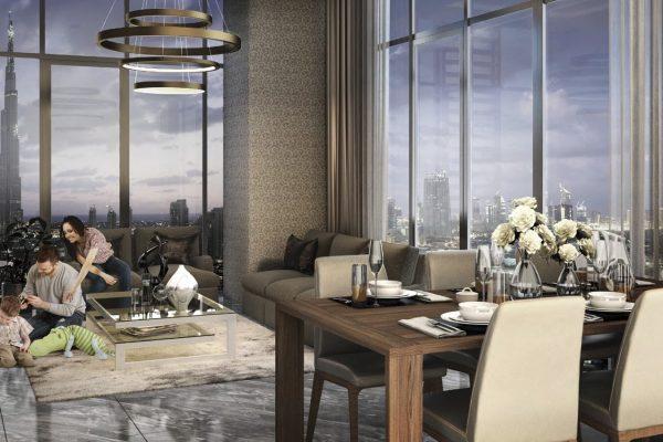 Creek Views by Azizi in Dubai Healthcare City. Premium apartments for Sale in Dubai