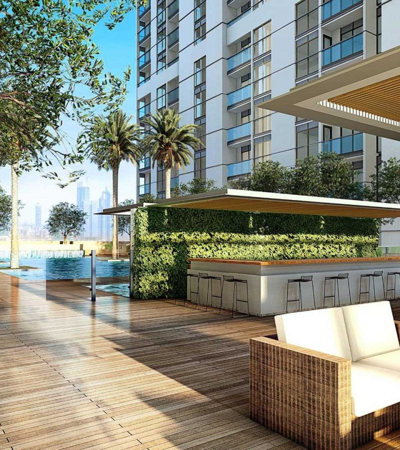 Creek Vistas by Sobha in MBR City Sobha Hartland. Luxury apartments for sale in Dubai