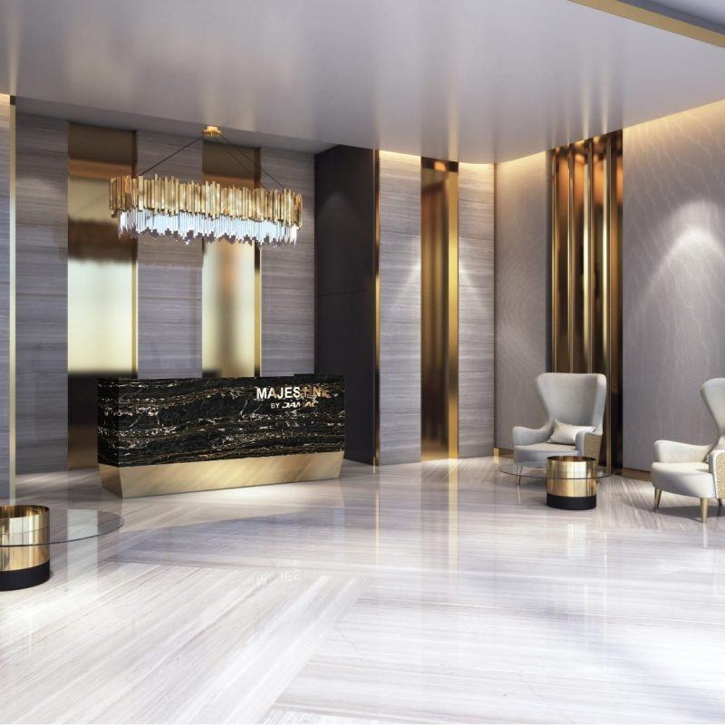 DAMAC Majestine by Damac at Business Bay. Luxury apartments for Sale in Dubai 1