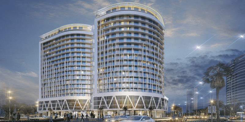 DAMAC Majestine by Damac at Business Bay. Luxury apartments for Sale in Dubai
