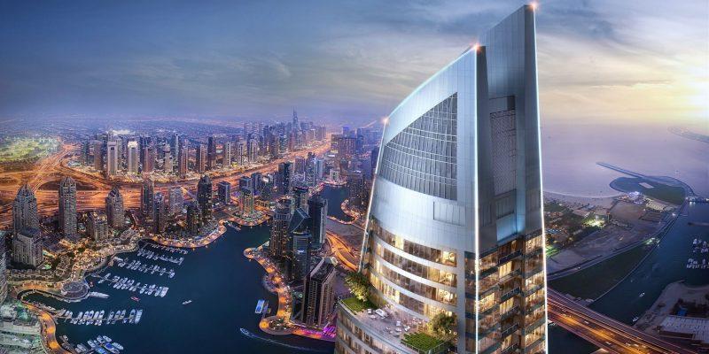 Damac Heights в Dubai Marina от Damac Properties. Продажа недвижимости премиум-класса в Дубае 2 1