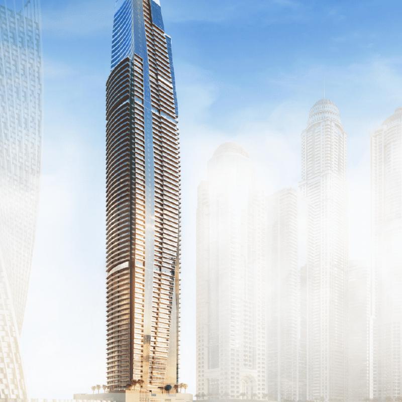 Damac Residenze by Damac at Dubai Marina. Luxury apartments for sale in Dubai 1