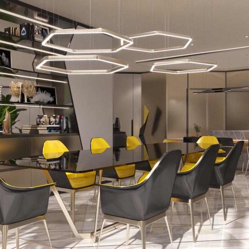 Dubai Hills Vista Inspired by Automobili Lamborghini in Dubai Hills Estate by Emaar. Wide selection of 6 bedroom villas for sale in Dubai 5 1