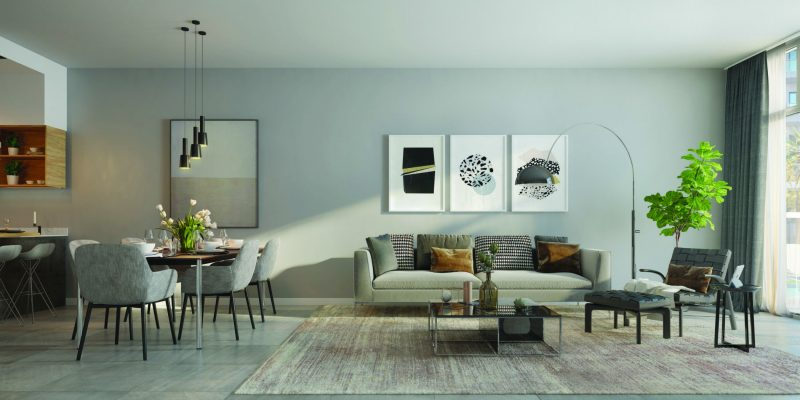 Elysee by Pantheon at Jumeirah Village Circle. Luxury apartments for Sale in Dubai
