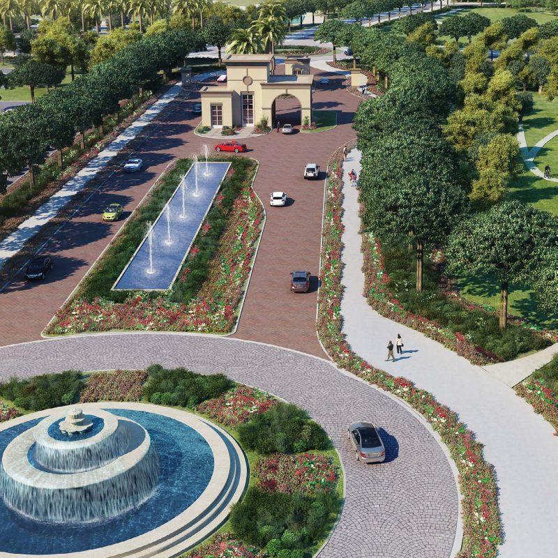 Fairway Vistas by Emaar at Dubai Hills Estate. Luxury apartments for sale in Dubai