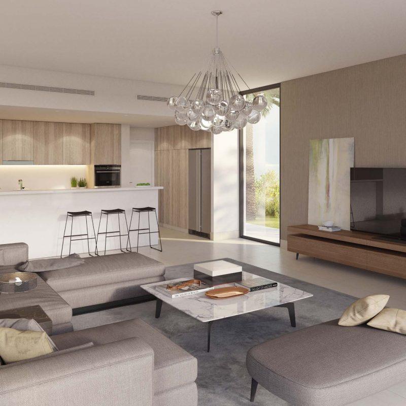 Interior Fairway Vistas by Emaar at Dubai Hills Estate. Luxury apartments for sale in Dubai