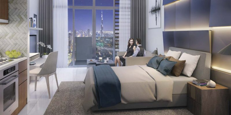 Farhad by Azizi in Dubai Healthcare City. Luxury apartments for sale in Dubai_1