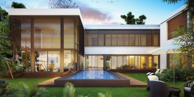 Forest Villas by Sobha in MBR City Sobha Hartland. Luxury apartments for sale in Dubai_1