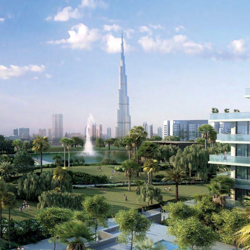 Golf Grove by Emaar in Dubai Hills. Luxury apartments for Sale in Dubai