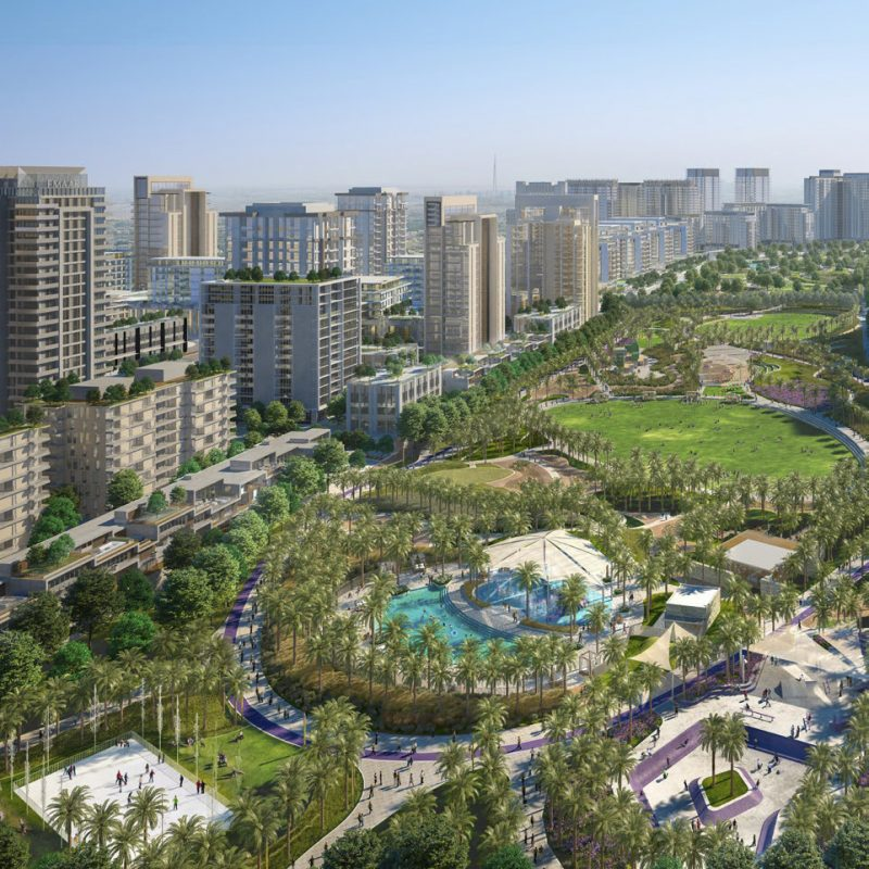 Golf Place by Emaar at Dubai Hills. Luxury apartments for sale in Dubai