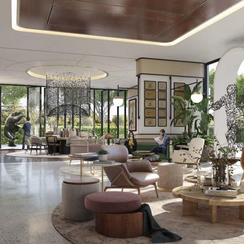 Interior Golfville by Emaar in Dubai Hills Estate