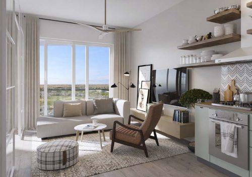 1 Bedroom Apartments in Golfville by Emaar in Dubai Hills Estate