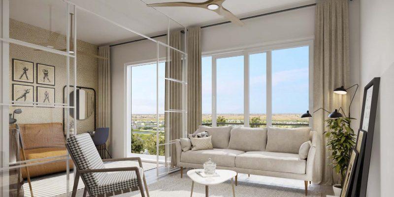 2 Bedroom Apartments in Golfville by Emaar in Dubai Hills Estate