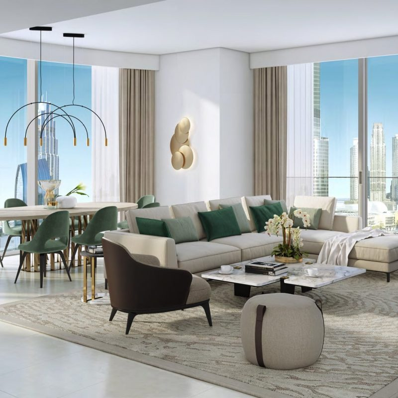 Grande квартиры в Downtown Dubai от Emaar. Продажа премиум квартир в Дубае 5