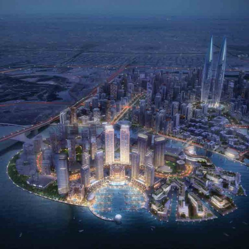 Harbour Views in Dubai Creek Harbour
