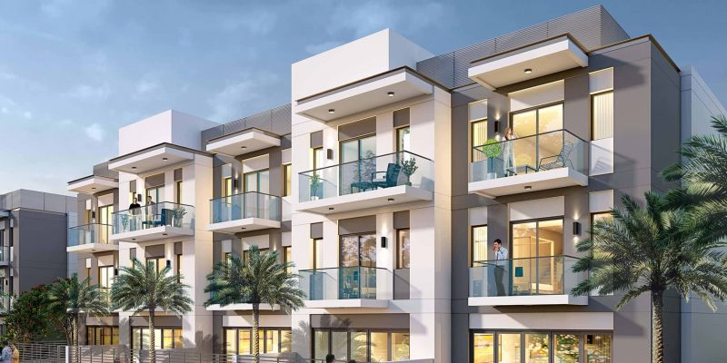 Hartland Townhouses by Sobha in MBR City Sobha Hartland. Luxury apartments for sale in Dubai_1