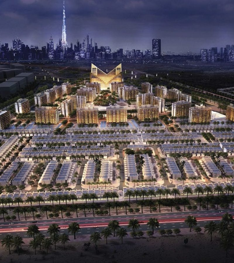 Mag Eye Apartments by Mag Eye at District 7 MBR City. Luxury apartments for Sale in Dubai