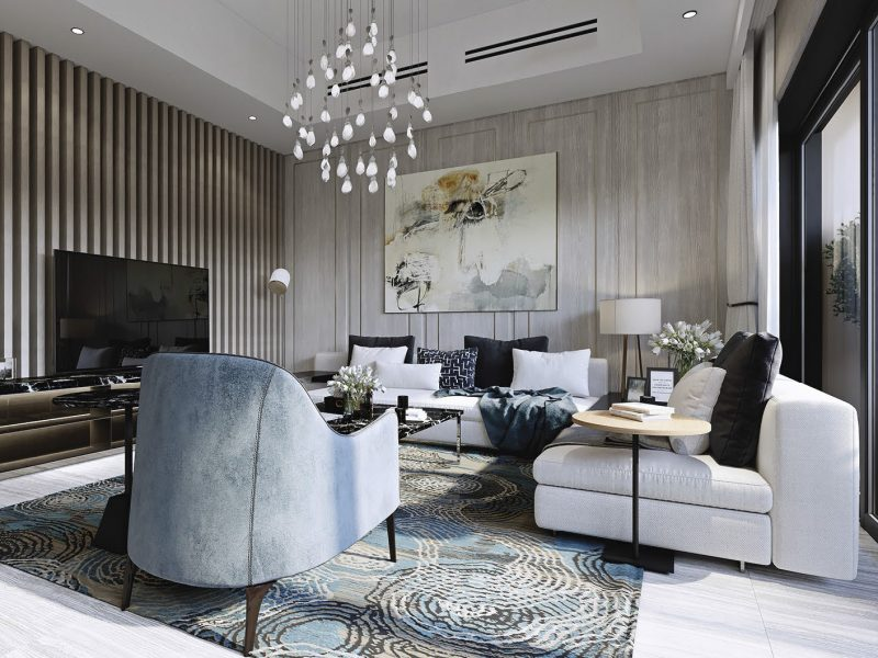 Mag Eye Townhouses by Mag Eye at District 7 MBR City. Luxury apartments for Sale in Dubai
