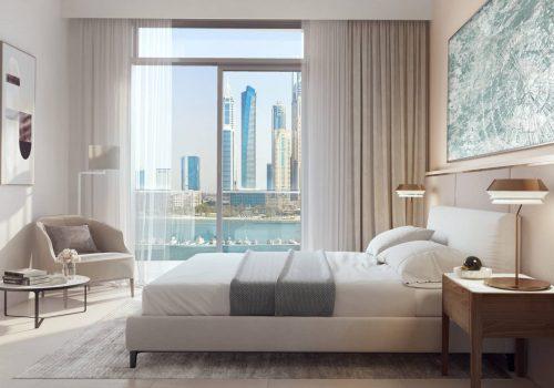 Marina Vista Villas by EMAAR in Emaar Beachfront, Dubai. Premium 3 and 4 bedroom villas for Sale in Dubai