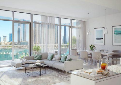 Marina Vista Villas by EMAAR in Emaar Beachfront, Dubai. Premium 3 and 4 bedroom villas for Sale in Dubai 3 3