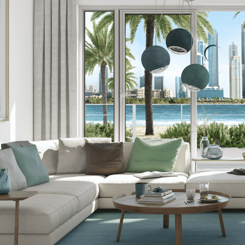 Marina Vista Villas by EMAAR in Emaar Beachfront, Dubai. Premium 3 and 4 bedroom villas for Sale in Dubai 3 4