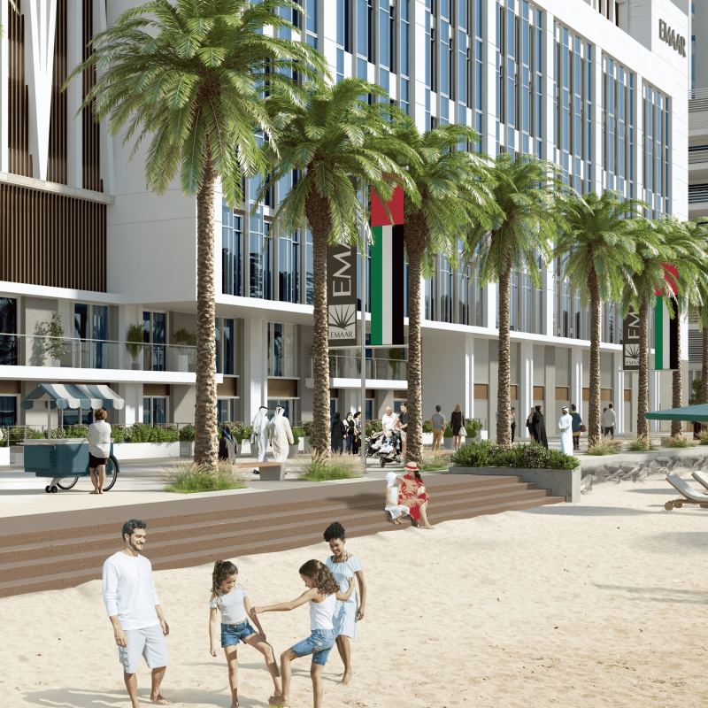 Marina Vista Villas by EMAAR in Emaar Beachfront, Dubai. Premium 3 and 4 bedroom villas for Sale in Dubai 5 6