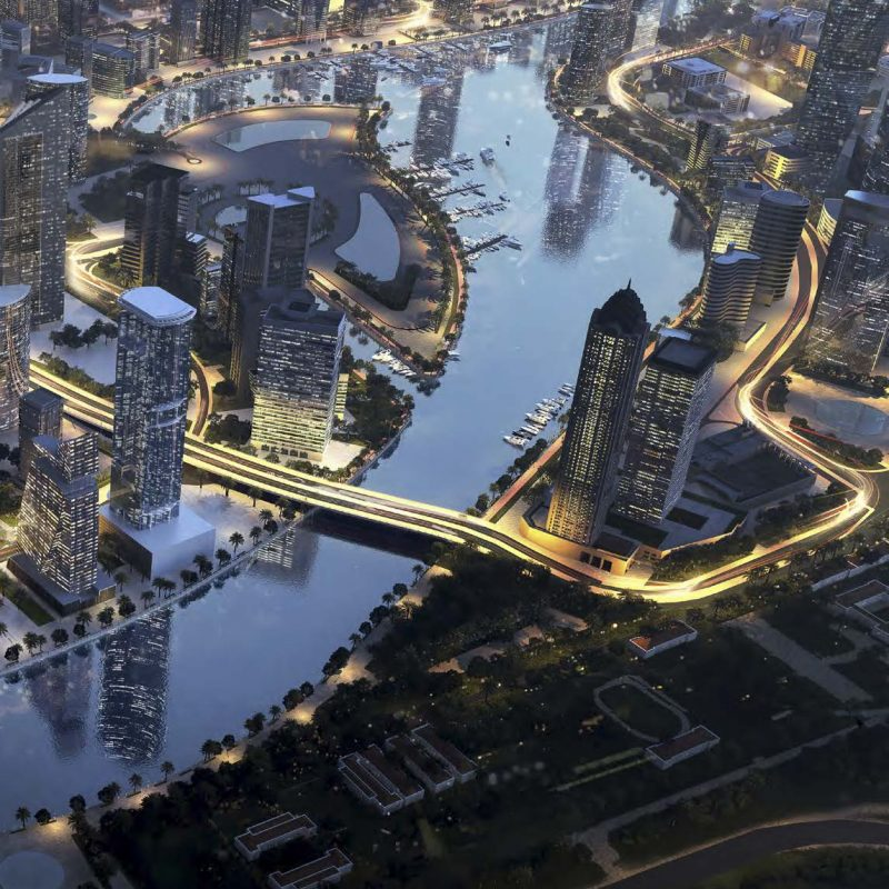 Merano Tower by Damac at Business Bay. Luxury apartments for Sale in Dubai