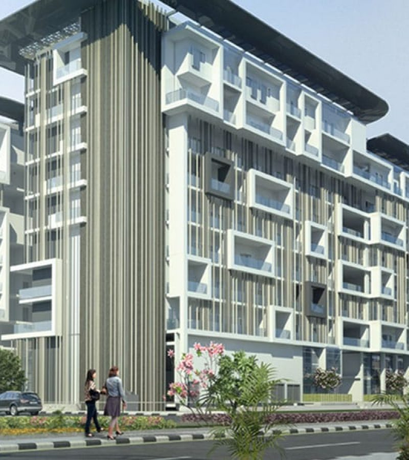 Oasis Residences at Masdar City by Reportage Properties. Premium apartments & townhouses for sale in Abu Dhabi