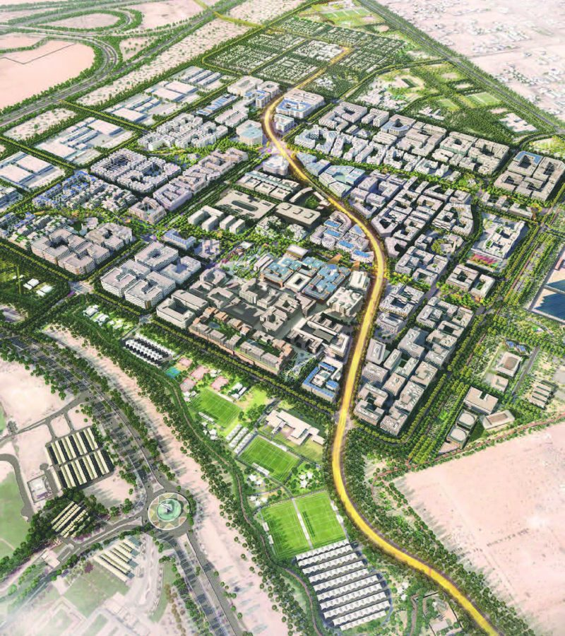 Oasis Residences at Masdar City by Reportage Properties. Premium apartments & townhouses for sale in Abu Dhabi 5 3