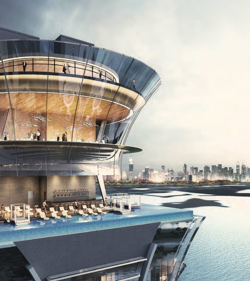 Palm Tower By Nakheel in Palm Jumeirah