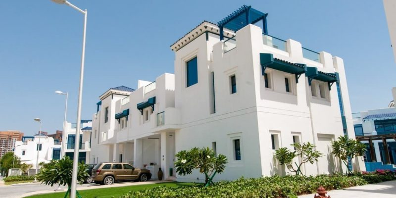 Palma Residences in Palm Jumeirah, Dubai.