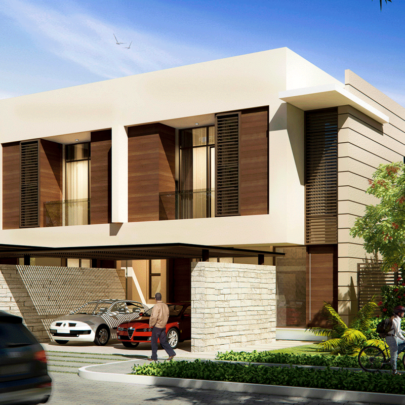 Paramount Villas by Damac at Damac Hills. Luxury apartments for Sale in Dubai 4