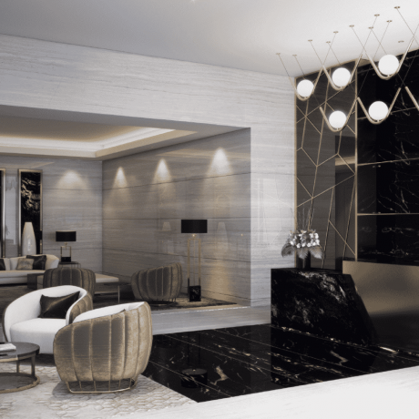 Rěva Heights by Damac at Business Bay. Luxury apartments for Sale in Dubai