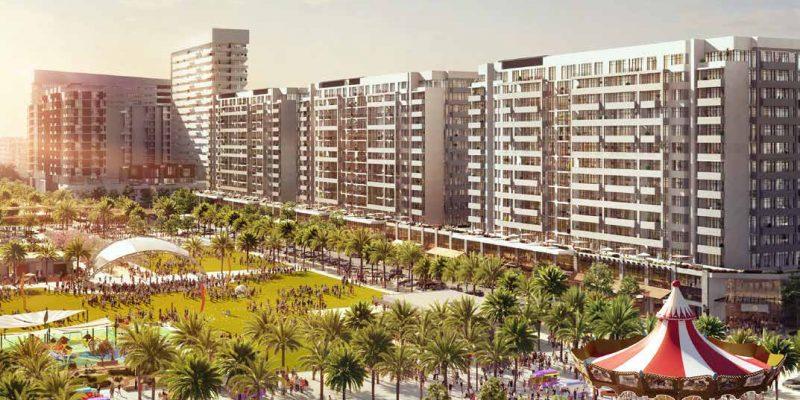 RAWDA Park Views in Town Square Dubai by Nshama. Premium apartments for sale in Dubai 2 1