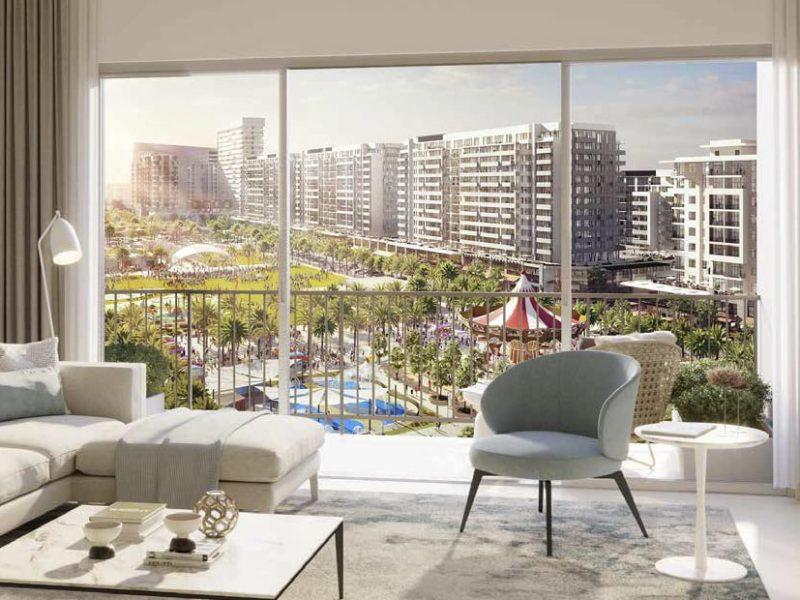 RAWDA Park Views in Town Square Dubai by Nshama. Premium apartments for sale in Dubai 3 2