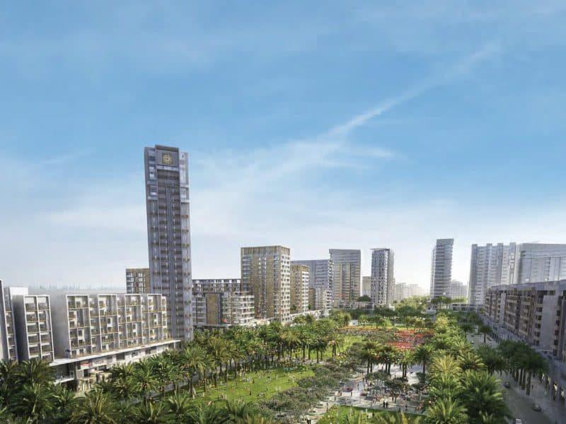 RAWDA Park Views in Town Square Dubai by Nshama. Premium apartments for sale in Dubai 5 1
