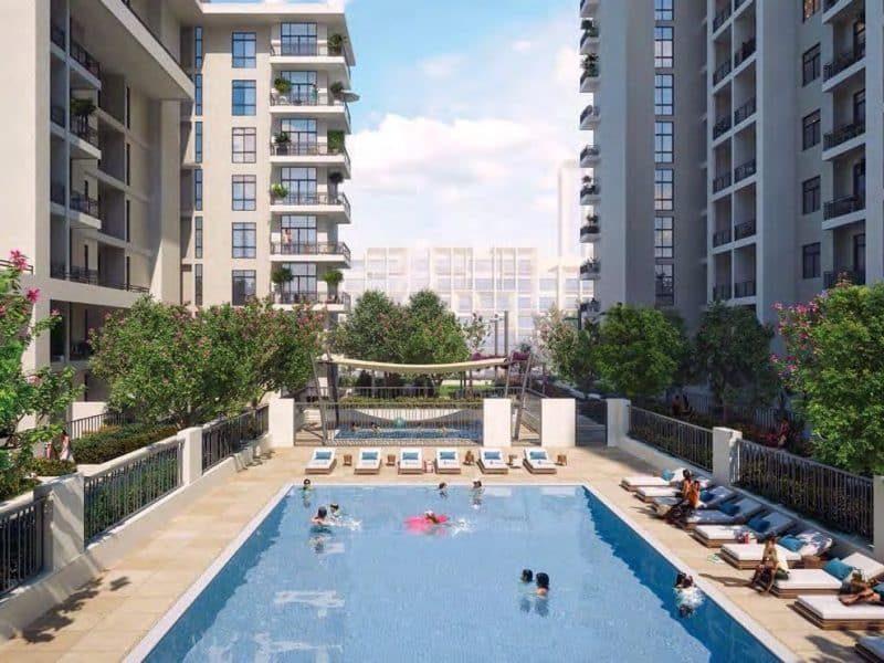 RAWDA Park Views in Town Square Dubai by Nshama. Premium apartments for sale in Dubai 5 4