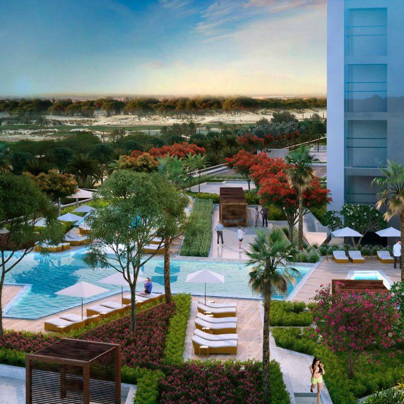 Radisson Hotel by Damac at Damac Hills. Luxury apartments for Sale in Dubai_2