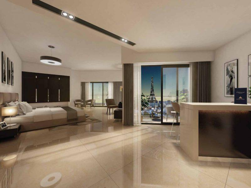 SAAM Vega by Oakwood at Falcon City, Dubai. Premium studios, 1, 2 and 3 bedroom apartments for sale in Dubai