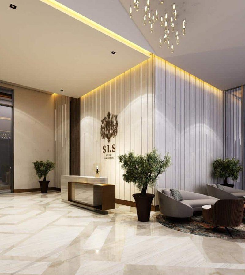 SLS Dubai Residence in Business Bay