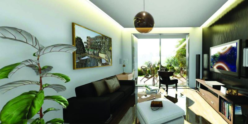 Samana Greens by Samana at Arjan. Luxury apartments for Sale in Dubai_