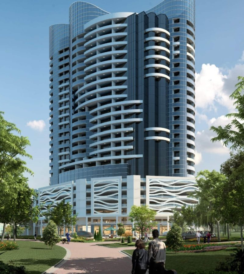 Blue Wave Tower by Tiger Group. New Furnished Apartments for Sale