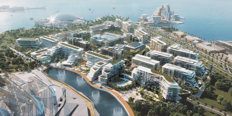 Saadiyat Grove by Aldar Properties on Saadiyat Island, Abu Dhabi.