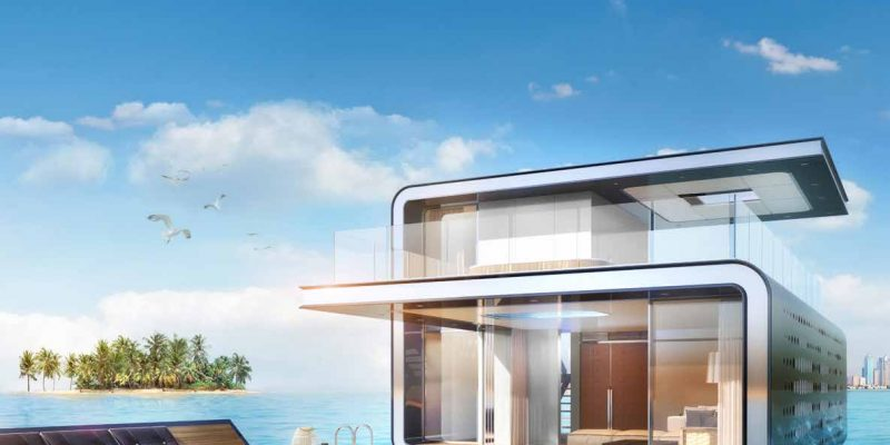The Floating Seahorse in The Heart of Europe. Floating Villas for Sale