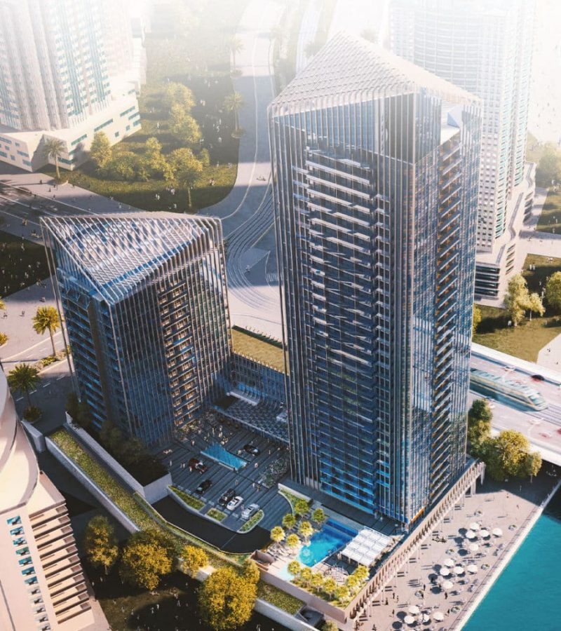 Sparkle Towers by Tebyan at Dubai Marina. Luxury apartments for Sale in Dubai 1